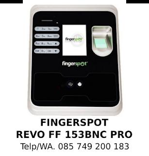 Jual Murah Mesin Absensi Fingerspot Revo FF 153 BNC Pro Asli Terbaik