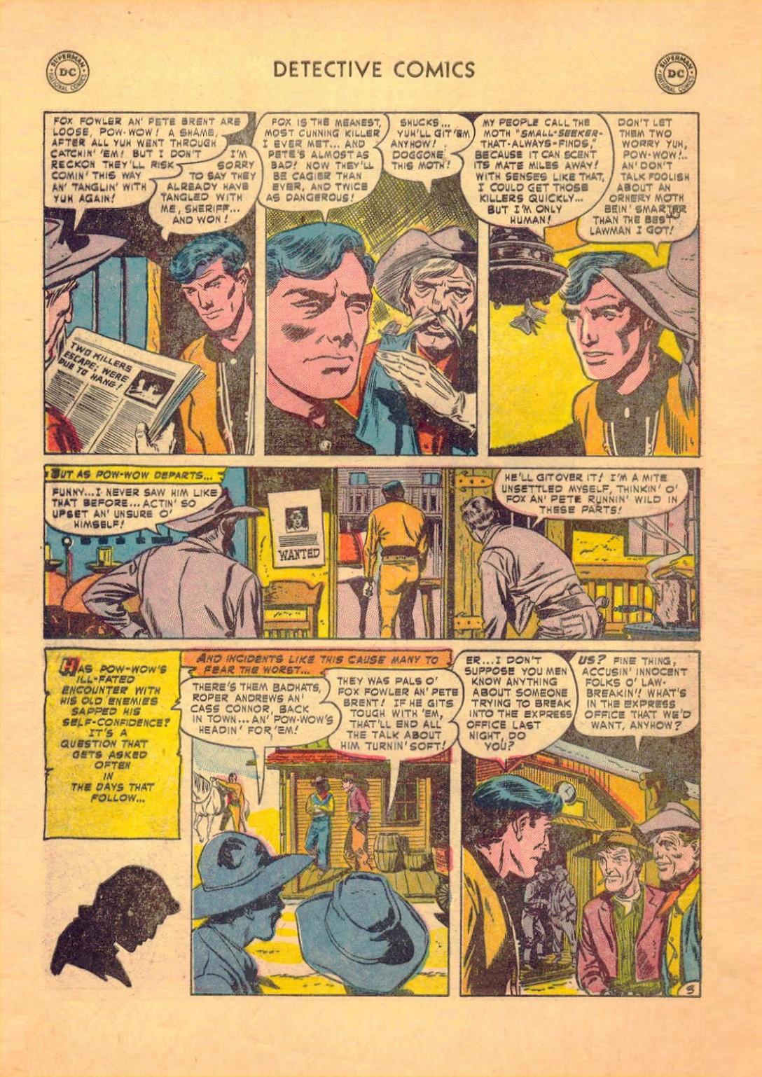 Read online Detective Comics (1937) comic -  Issue #182 - 35