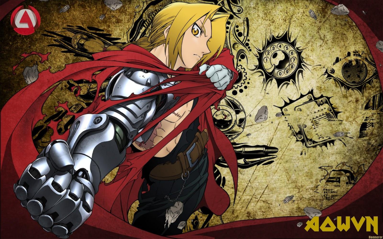 FMA - [ Anime 3gp Mp4 ] Fullmetal Alchemist + Movie | Vietsub - Cực hay!!