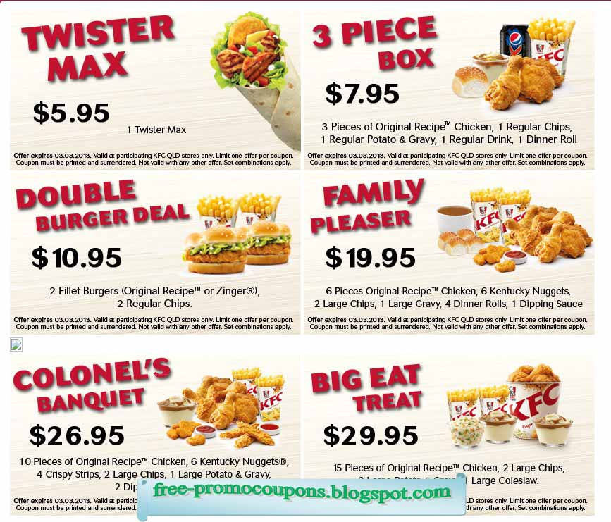 graphic about Kfc Coupons Printable identified as Cost-free kfc discount codes : On the net on line casino participate in 98 7