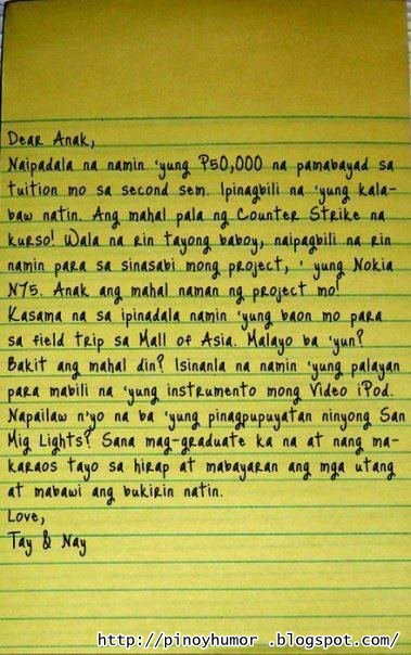 friends tagalog for letter christmas pictures funny humor jokes funny pinoy tagalog