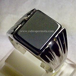Batu Permata Black Onyx - ZP 266