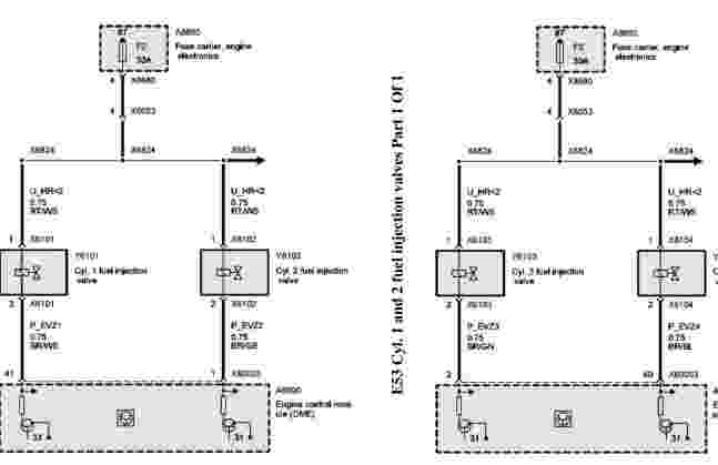 2003 bmw x5 (e53) wiring diagram - wiring diagram service ... bmw x5 2003 wiring diagram