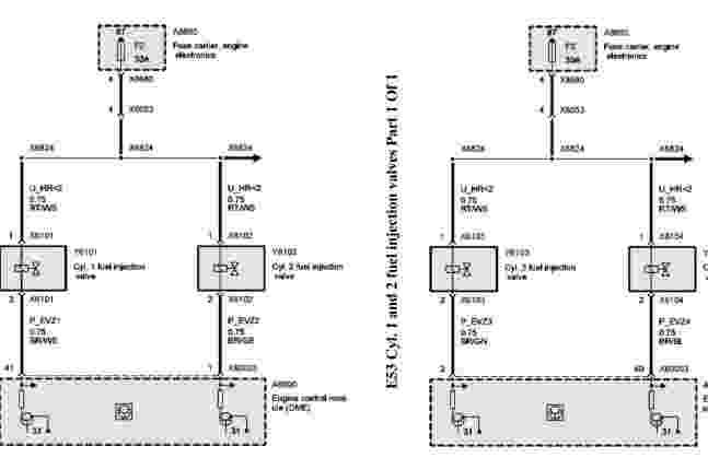 2003 BMW X5 (E53) Wiring Diagram  Wiring Diagram Service