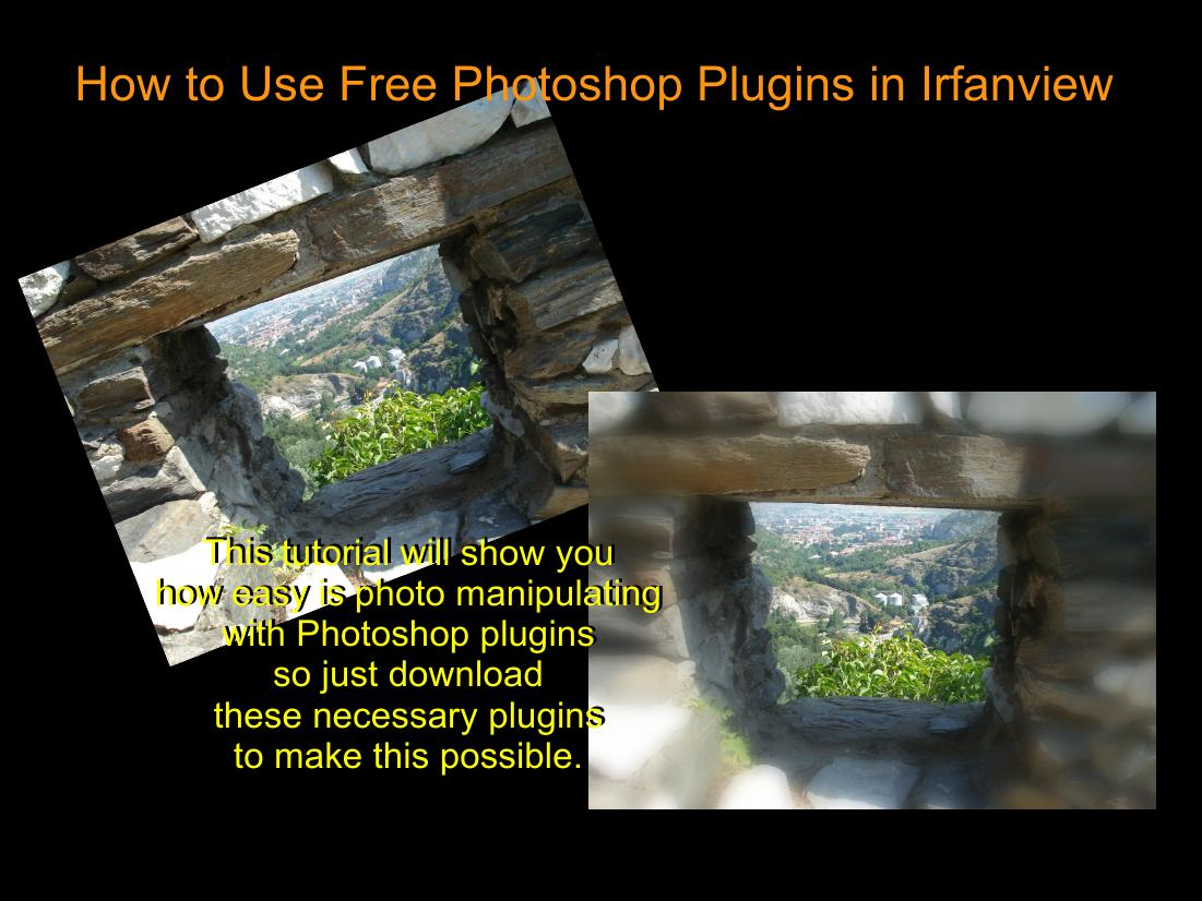 Photoshop Software Libre Unsuspected Possibilities Of Irfan View