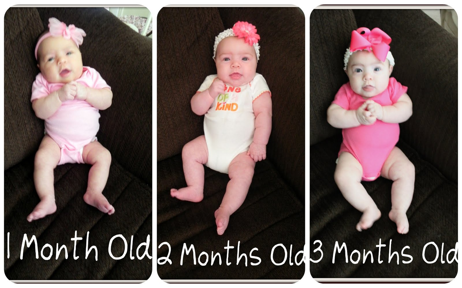 Happy 3 Months Mallory! We Love You!