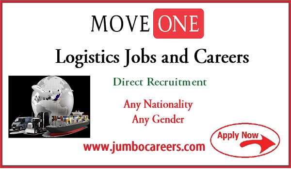 Logistic company job at India, UAE job vacancies,