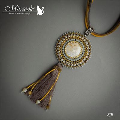 jasper pendant, jaspis oceaniczny, miracolo