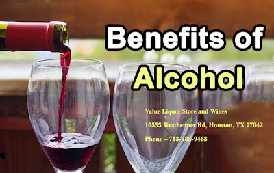 benefits of alcohol