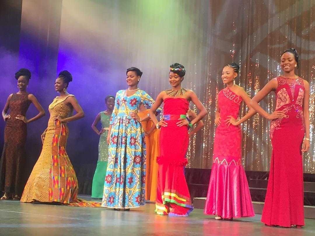 Miss Africa: Rebecca Asamoah
