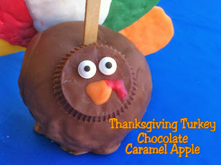 Thanksgiving Turkey Caramel Apples by Kims Kandy Kreations
