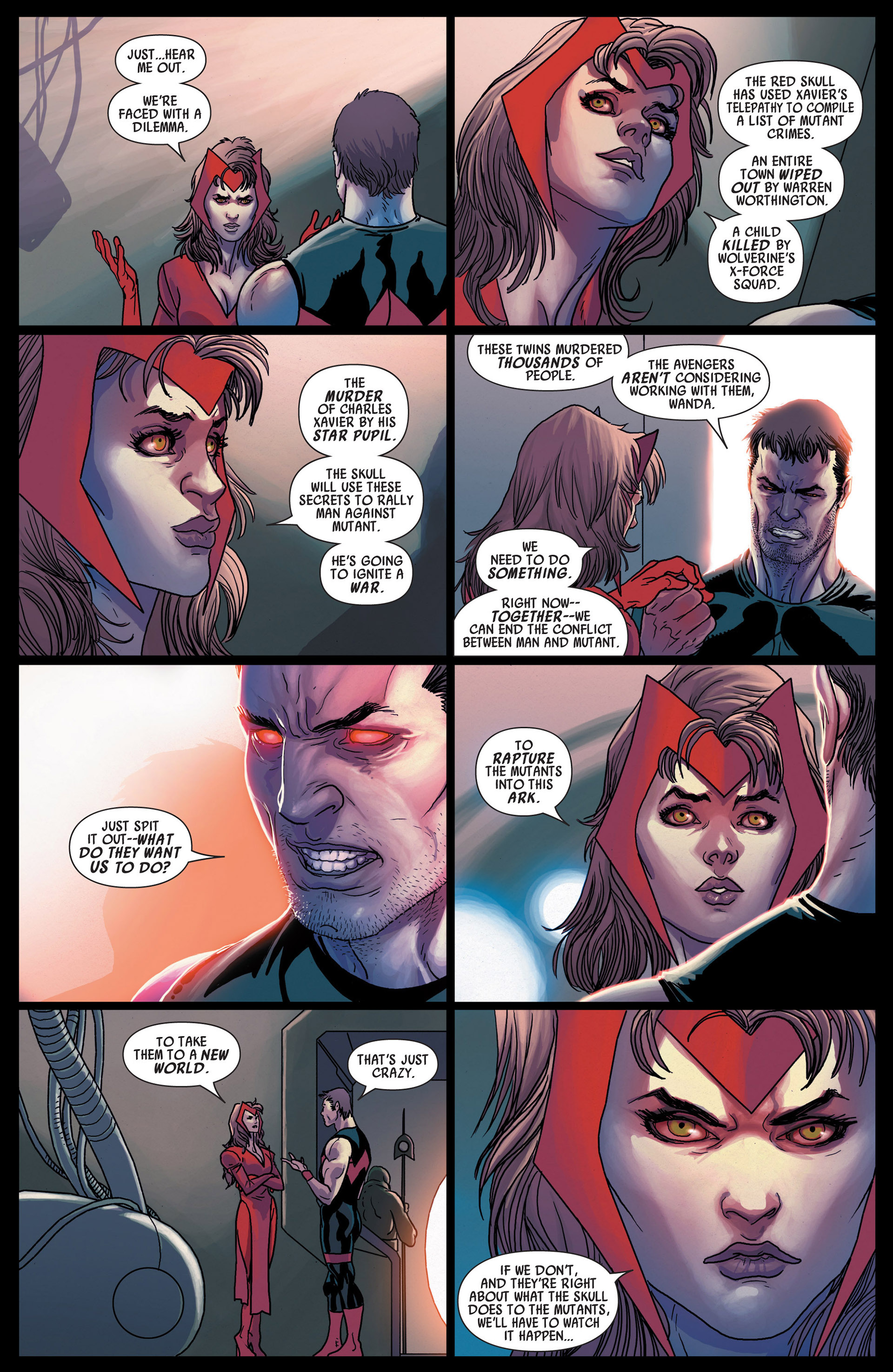 Read online Uncanny Avengers (2012) comic -  Issue #12 - 9