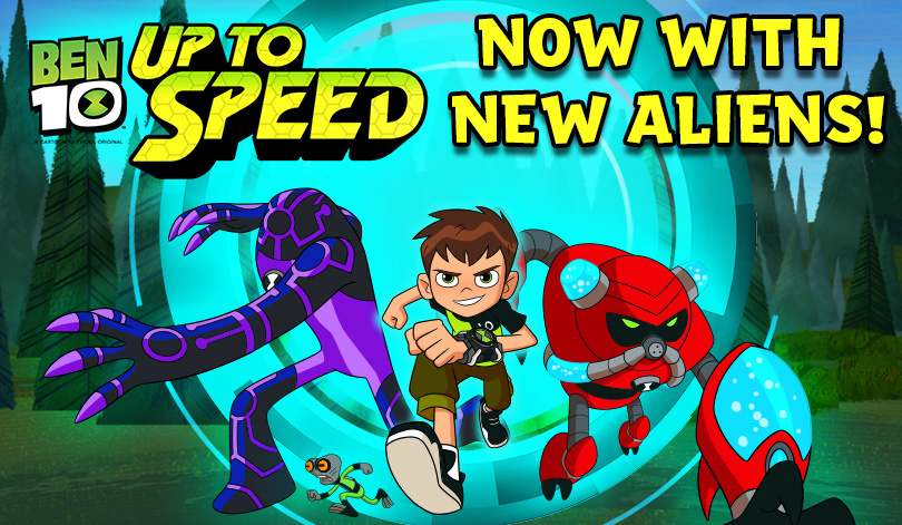 Play Ben 10 Up to Speed online for Free - POG.COM