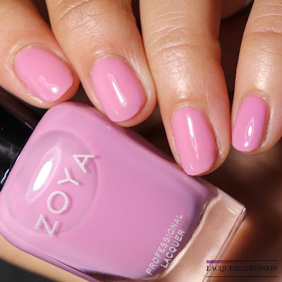 Swatch and Review of Zoya Libby from the Zoya Kisses Collection