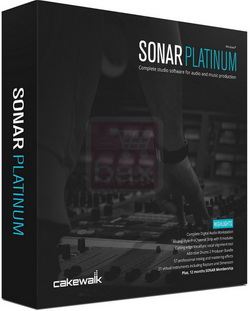 Cakewalk SONAR Platinum 23.3.0.51 with Plugins poster box cover