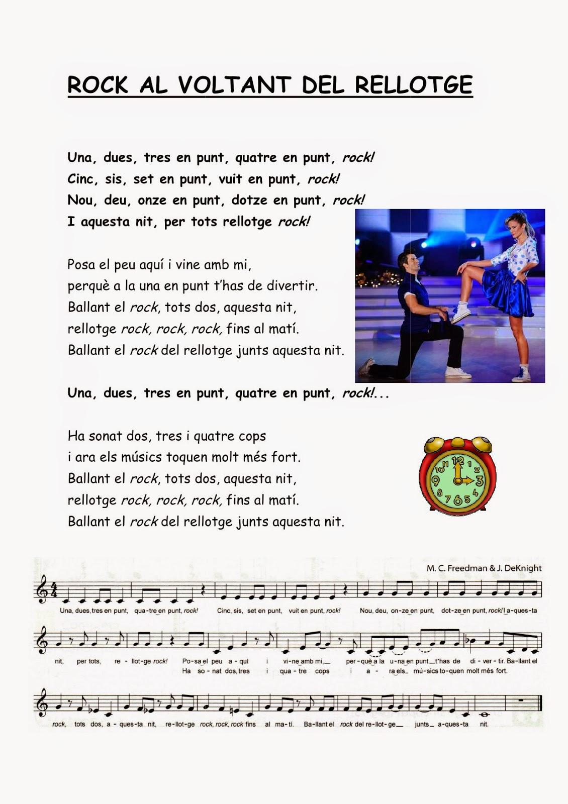 Música 4t El Rock Del Rellotge 1 10 14