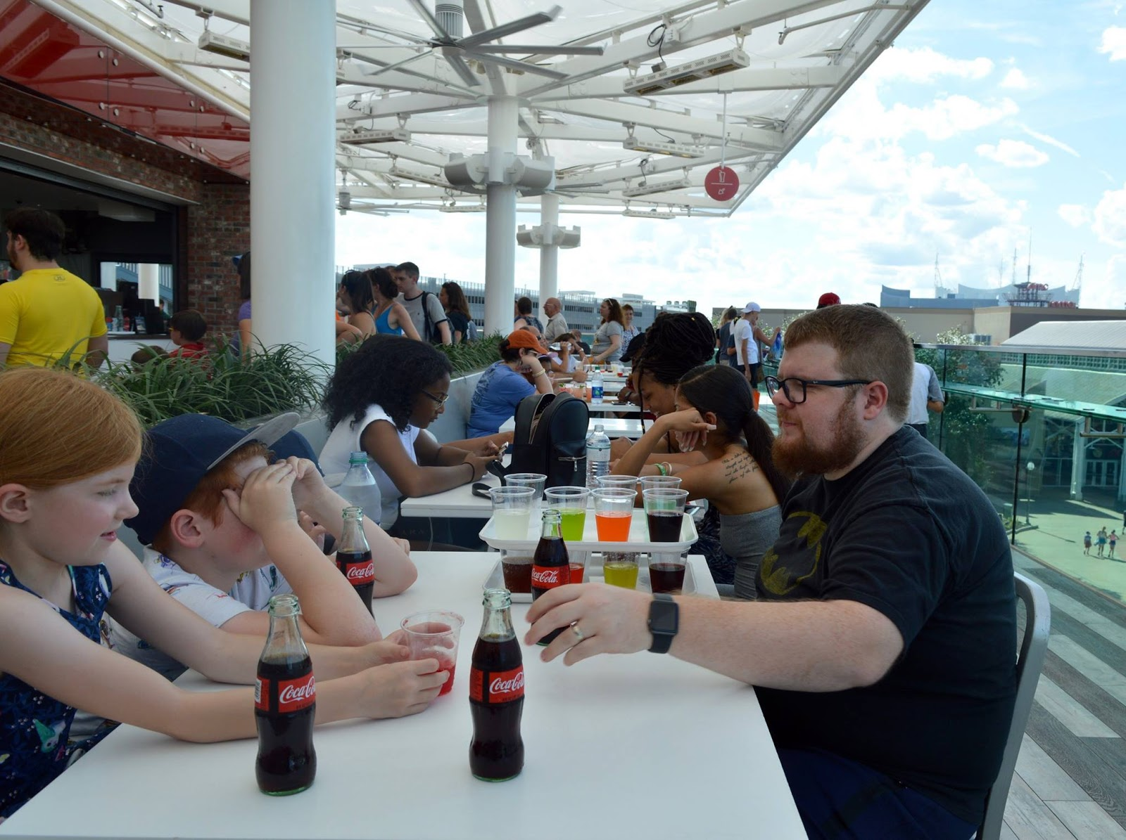 11 Things to do with Kids at Disney Springs Orlando, Florida  - coca cola rooftop bar