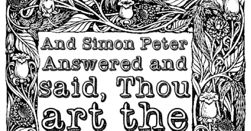 Matthew 16 16 Coloring Page Color The Bible