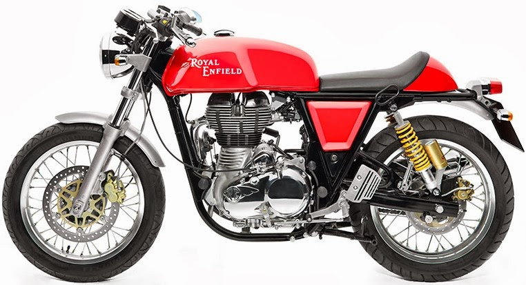New Cars and Bikes in India: Royal Enfield Continental GT