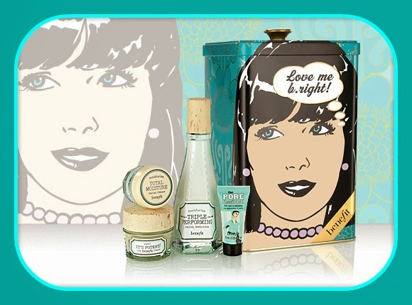 Love me b right, box collector Benefit - Blog beauté Les Mousquetettes