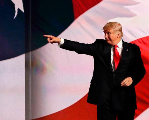 Trump promete restaurar la ley y el orden en Estados Unidos