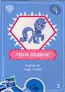 My Little Pony Wave 4 Trixie Lulamoon Blind Bag Card