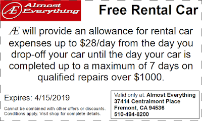 Coupon Free Rental Car March 2019