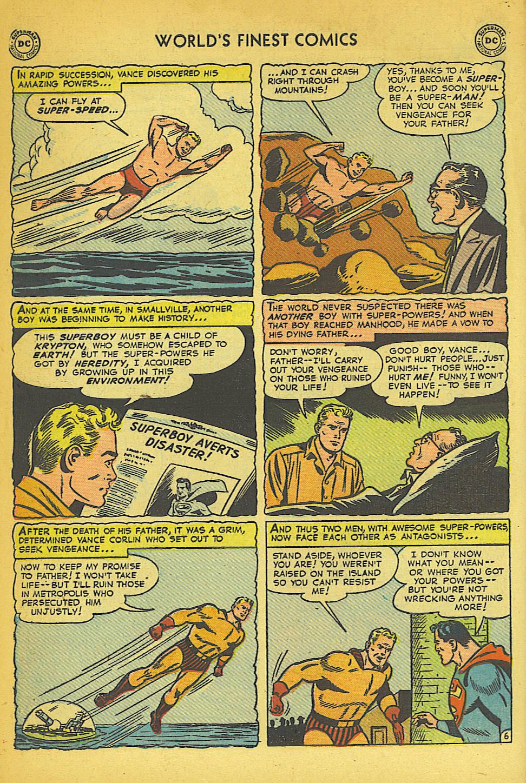 Read online World's Finest Comics comic -  Issue #57 - 8