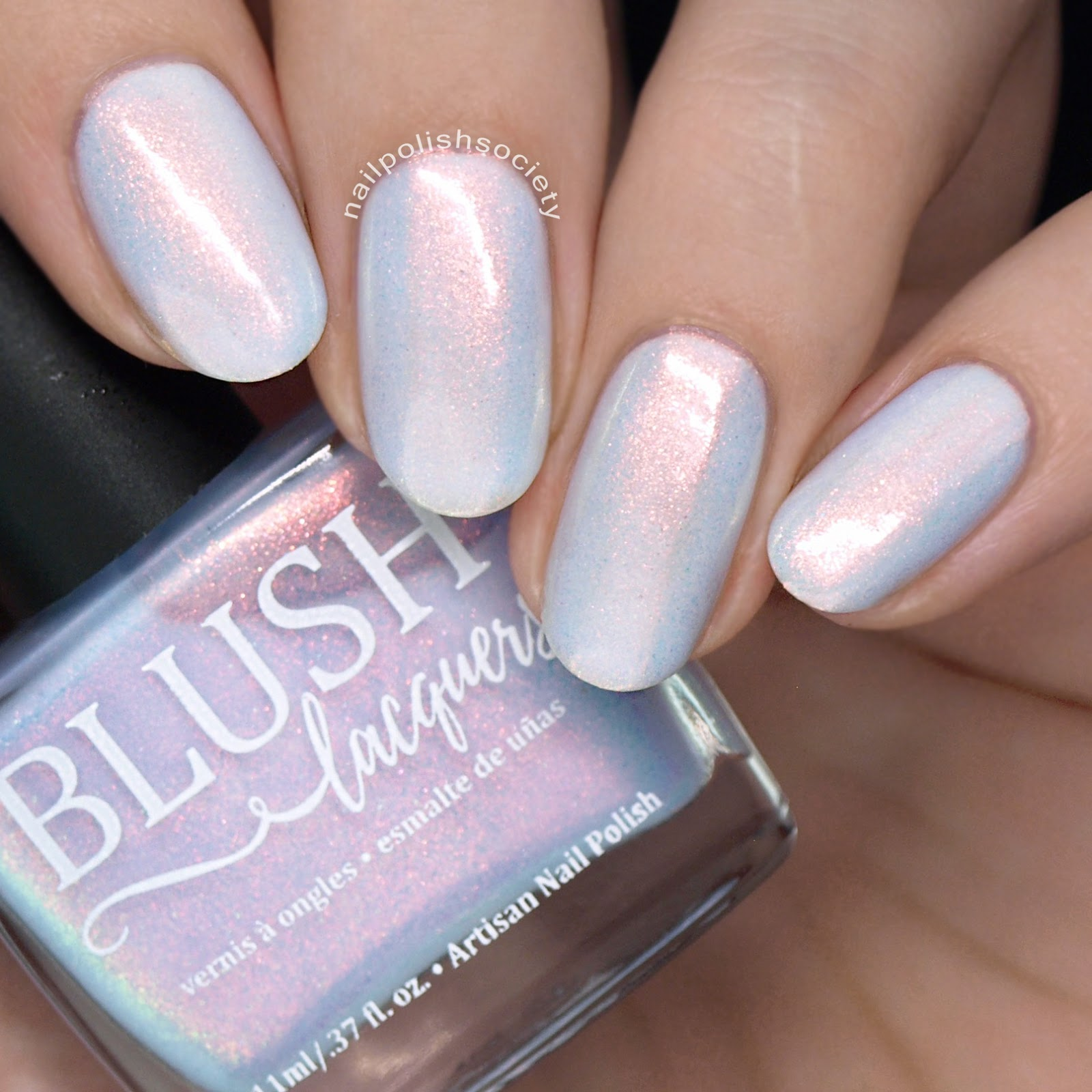 Nail Polish Society: BLUSH Lacquers Beachside Sunset Collection