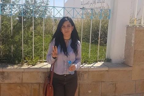 سيليا تخوض اعتصاما إنذاريا من أجل جواز السفر