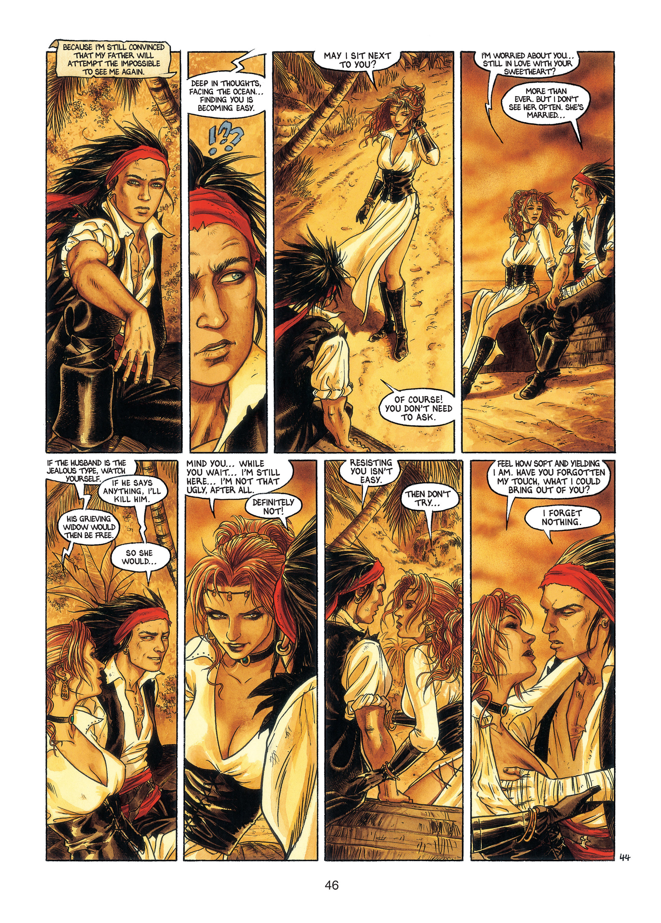 Read online Barracuda comic -  Issue #3 - 47