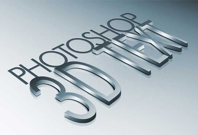 How to create high-quality metal 3D text in Photoshop @ Webdesignerpad