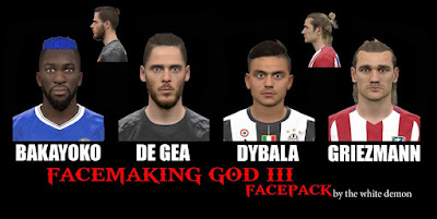 PES 2017 Faces by The White Demon