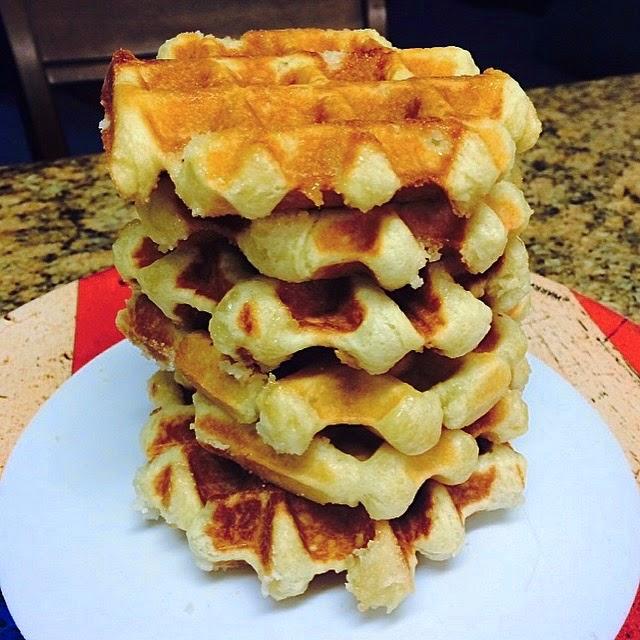 Smitten Kitchen Waffles: 17thCS: Easy Liege Waffles