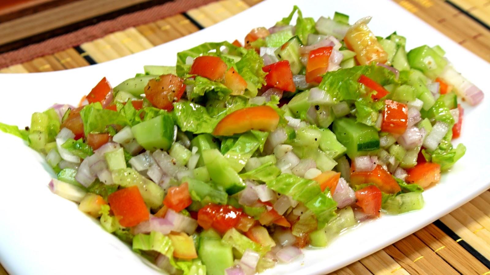 ensaladas para bajar de peso recetas