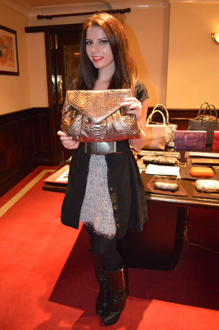 Laykh S Exotic Skin Handbags Preview Interview With Designer Kashish Hemnani