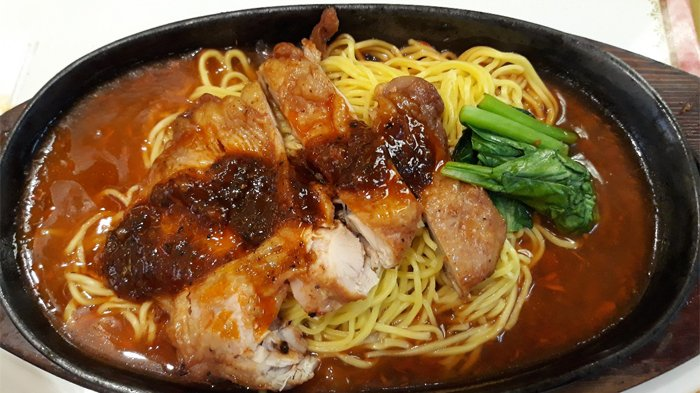 Resep Mie Ayam Jamur Hot Plate