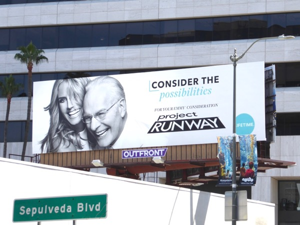 Project Runway 2017 Emmy consideration billboard