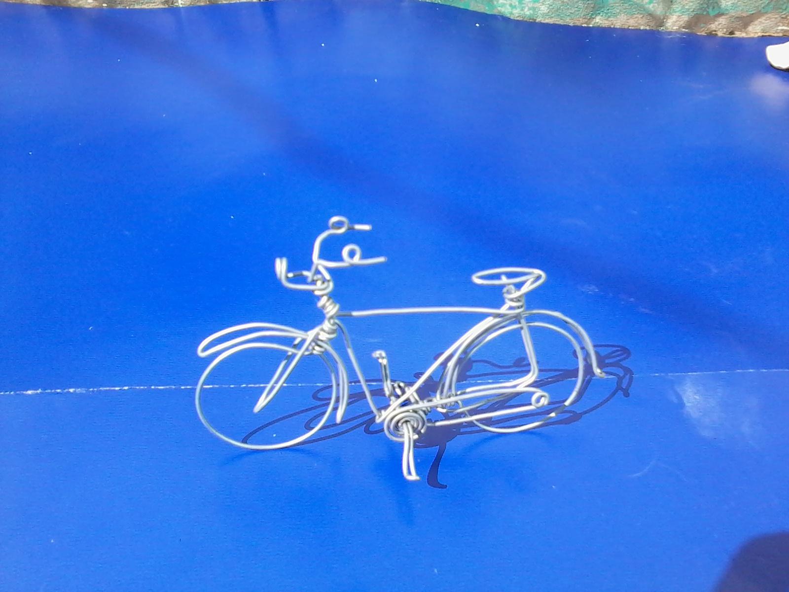 Aparador De Foco Jugui ~ Arteline Artesanatos Arte em Arame,filtro dos sonhos e diversos outros Bicicleta de arame