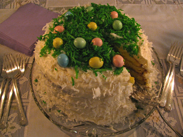 Holy-Saturday-With Bobi's-Easter-Cake