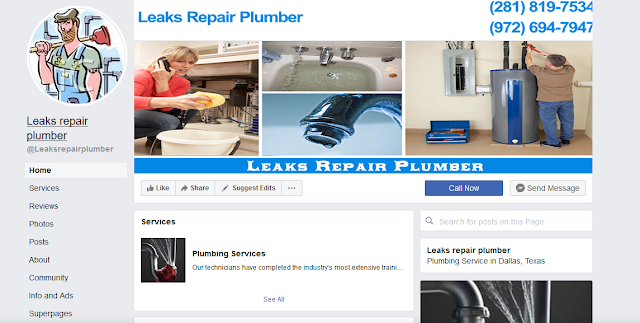 https://www.facebook.com/Leaksrepairplumber/