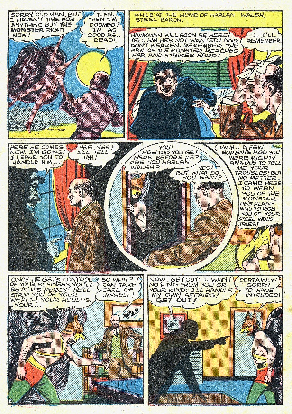 Read online All-Star Comics comic -  Issue #20 - 9