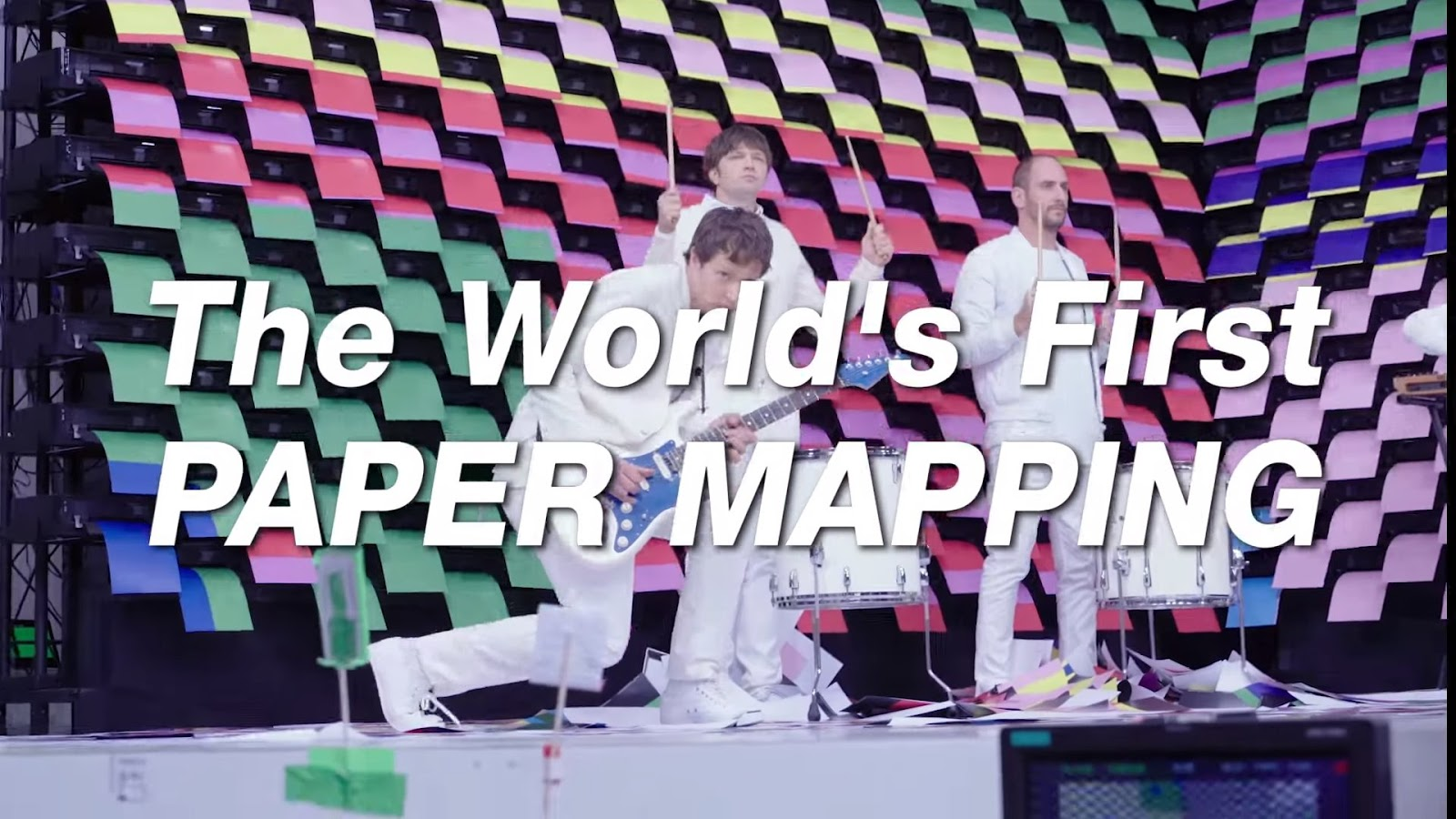 How OK Go Made the World´s First Paper Mapping  with 567 printers