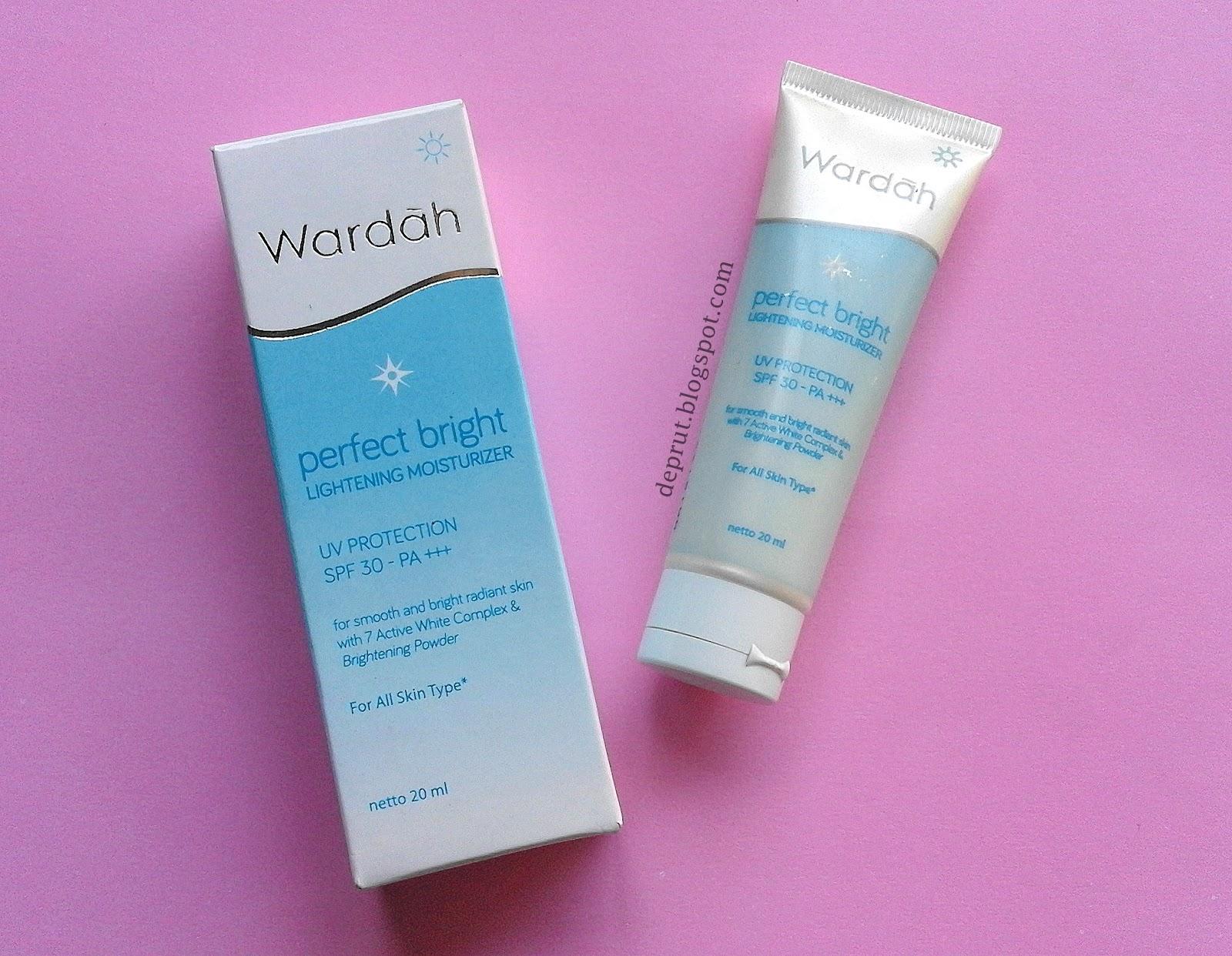 Devi Purwati Review Wardah Perfect Bright Lightening Mosturizer Day Cream 20 Ml
