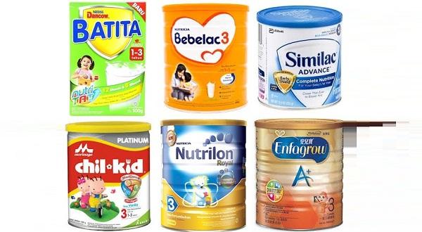 Cara memilih susu formula yang benar