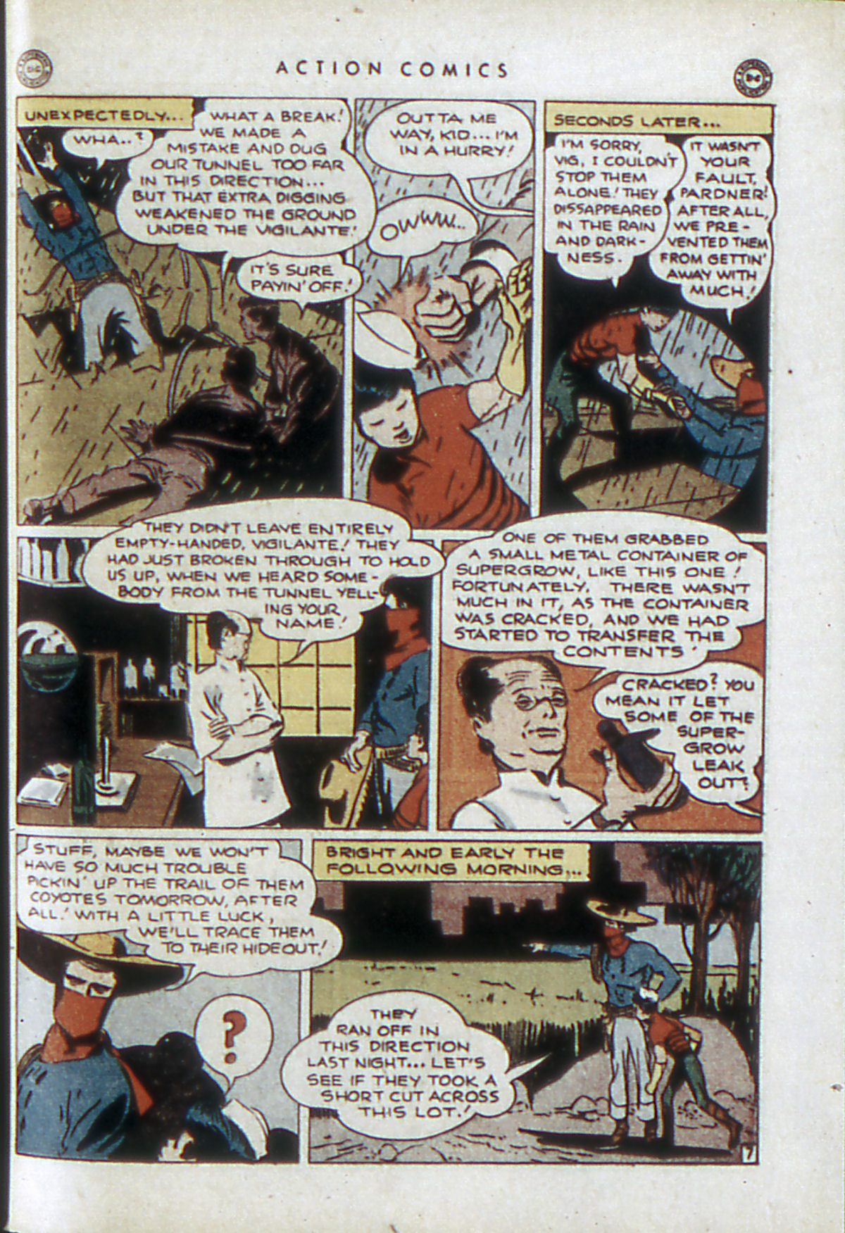 Read online Action Comics (1938) comic -  Issue #84 - 38