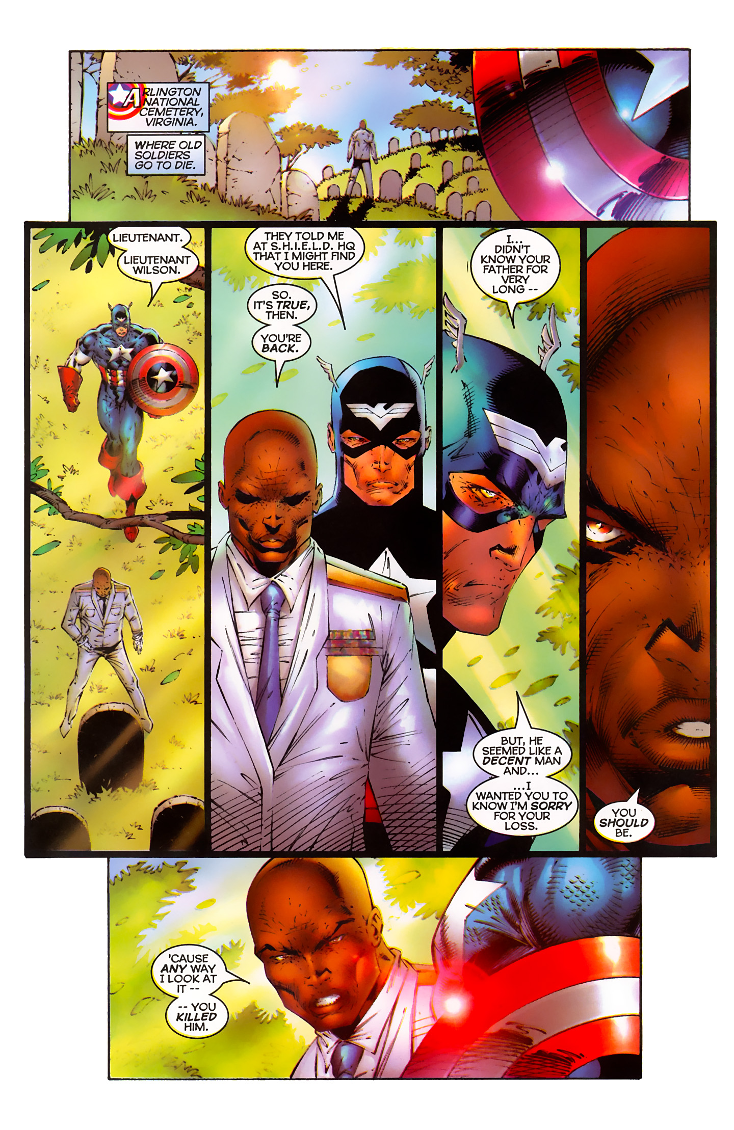 Captain America (1996) Issue #3 #3 - English 18