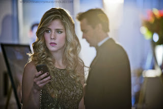 Cute Emily Bett Rickards Pretty Felicity Smoak Arrow Hair Style