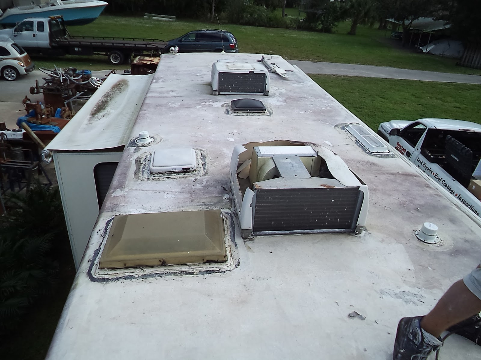Gr8lakescamper Never Leak Rv Roofing Launches