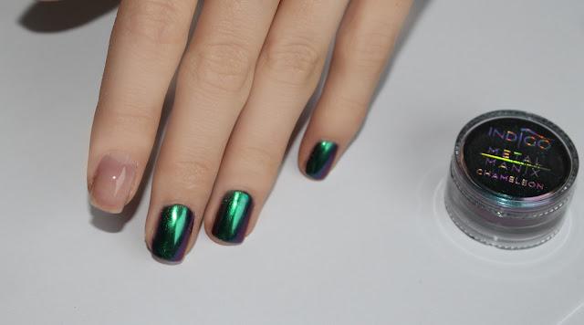 Jak zrobic chameleon na paznokciach semilac indigo kameleon paznokcie hybrydowe metal manix instrukcja czy mozna zrobic chameleon na hybryowym lakierze jak zrobić krok po kroku